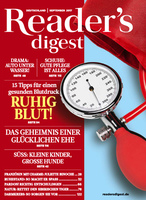 Deckblatt Reader's Digest September 2017