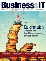Deckblatt Business&IT 1/2015