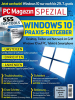 Deckblatt PC Magazin Spezial Windows 01/2016