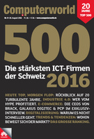 Deckblatt Computerworld Spezialausgabe Top 500 2016