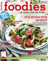 Deckblatt foodies Oktober/November 2013
