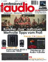 Deckblatt Professional audio 07/2019