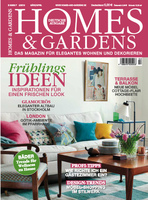 Deckblatt HOMES & GARDENS 2/16