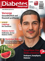 Deckblatt Diabetes Journal 7/2013