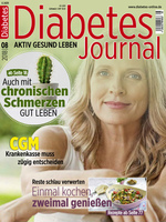 Deckblatt Diabetes Journal 8/2018