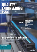 Deckblatt Quality Engineering P3/2016