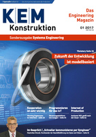 Deckblatt KEM Konstruktion – Systems Engineering 1/2017