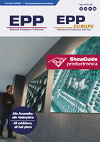 Deckblatt EPP/EPP Europe ShowGuide productronica 2017