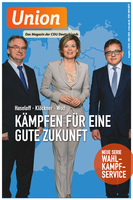 Deckblatt UNION Magazin 1-2016
