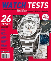 Deckblatt WatchTime Special Watch Tests 2013